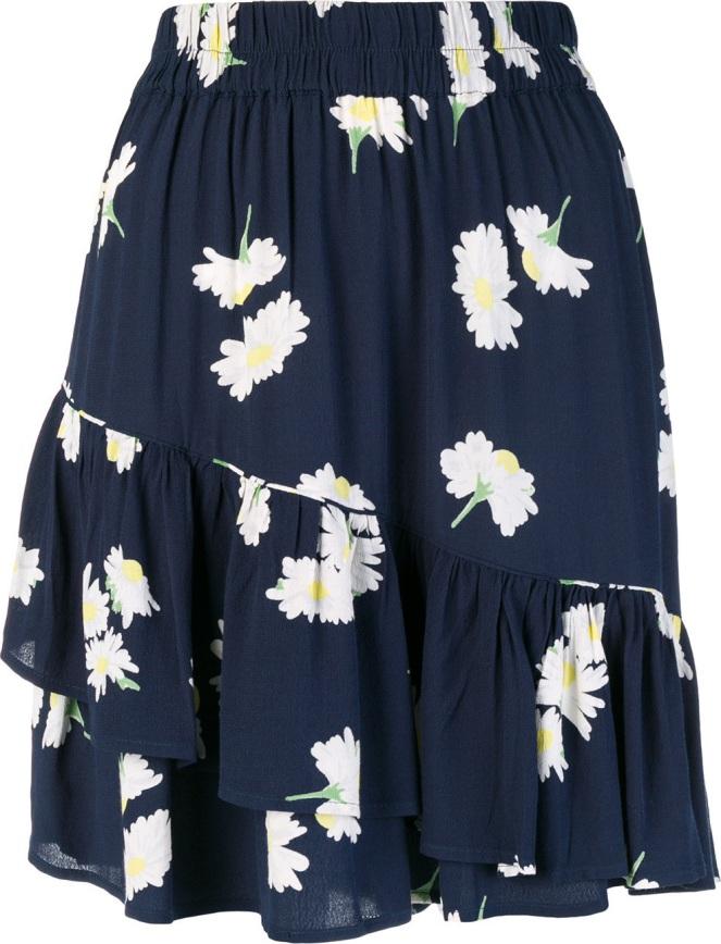 ganni-floral-asymmetric-skirt