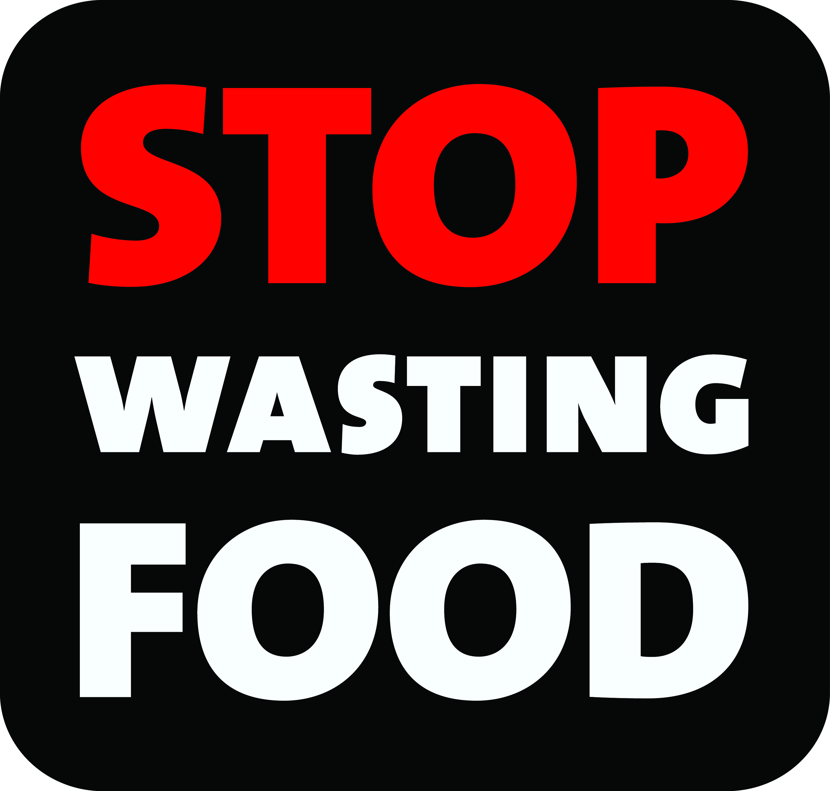 STOP WASTING FOOD LOGO